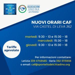 Caf Via Castel di Leva